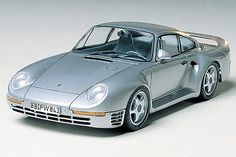 """The Porsche 959 is one of the most iconic, if not """"the"""" iconic Porsche car of all time making the Tamiya 1/24 Porsche 959 a must for a model collectors."""
