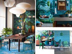 ¡Hawai, Bombay, es un paraíso..!  Claves para una #decoración #tropical.