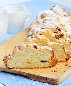 Pletení vánočky ze 6 pramenů VIDEO - Proženy Croissant, Pavlova, Food Styling, Sweet Recipes, French Toast, Food And Drink, Bread, Cookies, Breakfast