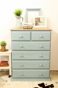 Here is the of the Tall Boys makeovers matching the one I posted end of last year. Miss Mustard Seed's Milk Paint in Arabesque with White Wax finish. Pine Bedroom Furniture, Farmhouse Bedroom Decor, Home Decor Bedroom, Lego Bedroom, Bedroom Dressers, Kids Bedroom, Tall Boy Drawers, Set Of Drawers, Recycled Furniture