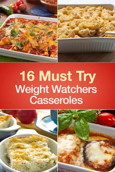 16 Must Try Weight Watchers Casserole Recipes including Chicken Taco Casserole…