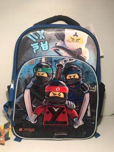 16inch Mochila Children Fashion Cartoon Student Backpack Ninjago Bag Girls Travel Bag Teenagers Boys School Bag Warm And Windproof Luggage & Bags