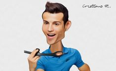 Photoshop Tutorial Caricature Effect