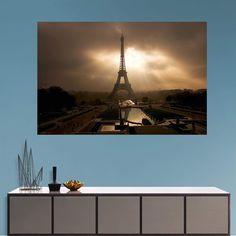 Fathead Eiffel Towerat at Dusk Wall Mural - 69-00444
