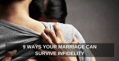 You CAN survive infidelity and come out stronger and more committed than ever before. #marriage #overcome #divorce