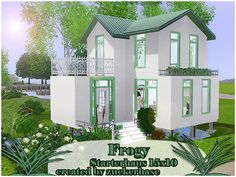 Frogy a modern starter home by zuckerhase - Sims 3 Downloads CC Caboodle