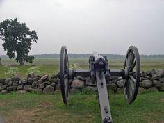 Site of Battle at Gettysburg in the American Civil Was, Gettysburg, Pennsylvania