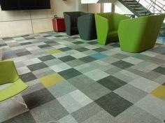 Outlook colourways carpet tile