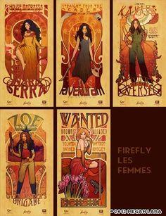 Firefly Les Femmes  https://store.qmxonline.com/Firefly-Les-Femmes-Poster-Set_p_139.html
