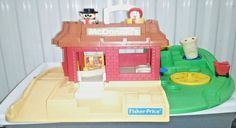 Fisher Price McDonalds 2552  Little People Restaurant  #FisherPrice