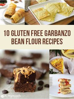 "10 of the Best Gluten Free Garbanzo Bean Flour Recipes **handy for using the ""standard"" BRM AO flour*"