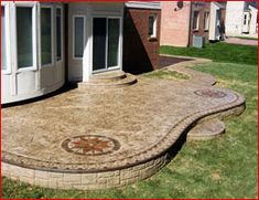Ruggero Cement Stamped Concrete Patios-Macomb MI