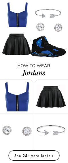 """""""💙"""" by glorygirltrell on Polyvore featuring WearAll, NIKE and Bling Jewelry"""