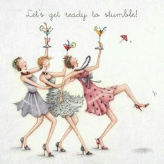 Cocktails Greeting Card – Lets get ready to stumble! – Berni Parker Cocktails Greeting Card – Lets get ready to stumble! Birthday Wishes Cards, Happy Birthday Funny, Happy Birthday Quotes, Happy Birthday Greetings, Happy Birthday Best Friend, Old Lady Humor, Art Impressions Stamps, Crazy Friends, Birthday Images