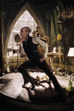 Count Olaf. A series of unfortunate events