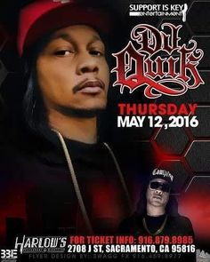 I'm opening for the legend DJ Quik this Thursday with @kelvinnle Pre-sale tix are $30 if there's any left. Check out stub hub ticket master or search harlows night club on facebook! by realmrtn