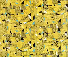 tkanina odzieżowa, proj. Anna Orzechowska, 1956