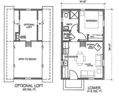 Sea La Vie - Great floor plan! Downstairs bed and bath, but extra space in loft. Really like the arrangement downstairs. Just over 400sqft.