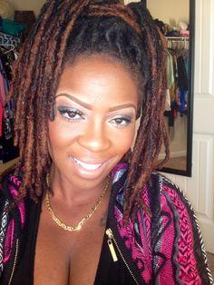 Makeup and Locs