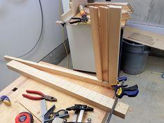 Making wooden plantation shutters the easy way Wooden Shutter Blinds, Wooden Window Shutters, Diy Shutters, Wooden Windows, Shutter Hardware, Diy Home Improvement, Woodworking Plans, Diys, Pergola