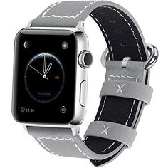 Apple Watch Band iWatch Replacement Strap 42mm Or 38mm Grey Black Unique  NEW #Fullmosa