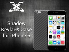 XGear Shadow Kevlar® Case for iPhone 6.  Crafted from pure layers of DuPont™ Kevlar® fibers to make the Shadow one of the strongest cases for the iPhone 6!  On Kickstarter