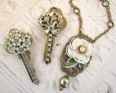 Repurposed Keys Jewelry