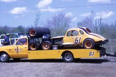 This Photo was uploaded by johnbisci. Dirt Car Racing, Nascar Racing, Auto Racing, Toy Hauler Trailers, Cool Car Pictures, Classic Race Cars, Car Carrier, Plastic Model Cars, Old Race Cars
