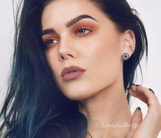"""Autumn colors. For product list, visit my blog lindahallberg.com #makeup #lindahallberg #mua #fotd"""