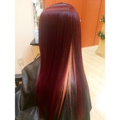 Red hair, peek-a-boo blonde with magenta highlights. Joico color done by Beth Autullo