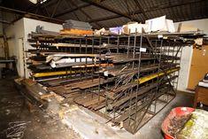 Metal Storage Racks, Bar Stock, Round Bar, Steel Bar, Cool Tools, Garage, Auction, Construction, Australia