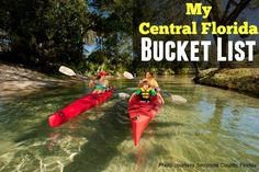 My Central Florida Bucket List List of things to do, places to eat in Central Florida (Orlando, Sanford, Florida Space Coast, Cocoa Beach). What would you add to this list? Orlando Travel, Orlando Vacation, Orlando Florida, Visit Orlando, Florida Camping, Florida Travel, Travel Usa, Florida Trips, Usa Roadtrip