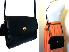 Vintage Coach Black Chrystie Bag 9892 Hipster by hanniandmax, $59.00