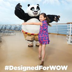 TURNING IMAGINARY FRIENDS INTO BEST FRIENDS.  #DesignedForWOW #RoyalCaribbean
