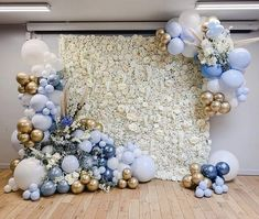 Baby Shower Decorations For Boys, Boy Baby Shower Themes, Baby Shower Balloons, Birthday Party Decorations, Baby Boy Shower, Wedding Decorations, Balloon Wall, Balloon Garland, Balloon Decorations
