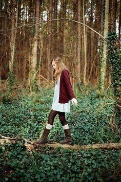 Woods wandering.