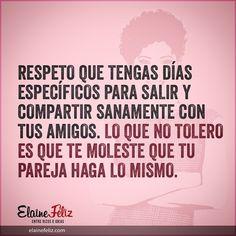 Que te amen mucho no quiere decir que tengas más derechos. #Reflexiones