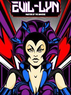 Evil-Lyn from Masters of the Universe on Behance Classic Cartoons, Cool Cartoons, 80s Cartoon Shows, Hee Man, Fanart, Morning Cartoon, Mundo Comic, She Ra Princess Of Power, Universe Art