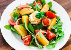 Sweet and mild taste of beets with tangy taste of cheese makes this Golden Beets Salad with Goat Cheese a summer go to.