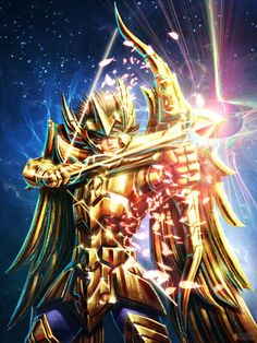 Saint Seiya-Aiolos of Sagitario
