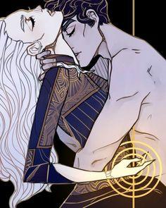 Alina & The Darkling by monolimeart