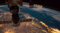 A symphony in space! Stunning footage of earth as you've never seen it before from the ISS.