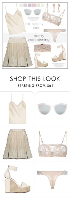 """The Prettiest Under  DON'T COPY"" by pat912 ❤ liked on Polyvore featuring Halfpenny London, Topshop, Zimmermann, La Perla, Alexander Wang, WithChic, polyvoreeditorial and prettyunderpinnings"