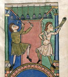 De ambachtsmannen van de abdij , heel handige mensen die goed konden werken met metaal .