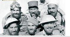 Bir-hakeim, résistance héroïque des FFL. Forces Françaises Libres.