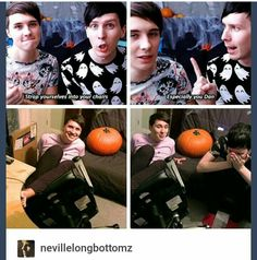 YouTube  Tumblr Danisnotonfire  Amazingphil