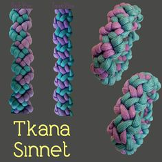 Tkana Sinnet Paracord Bracelet Designs, Bracelets Design, Paracord Ideas, Paracord Bracelets, How To Make Leather, Sewing Cards, Ropes, Friendship Bracelets, Climbing