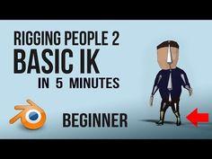Rigging People | Blender | Quick | Beginner - YouTube