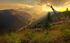 Scenery Beautiful Mountain Wallpaper : 1920x1200px HD Wallpapers #8023 ~ Nyewall.com