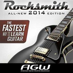 Jugar ROCKSMITH es una experiencia, Nunca ha sido más fácil jugar a lo largo y obtener retroalimentación sobre su rendimiento a medida que avanza, sera un método probado para aprender la guitarra RÁPIDO